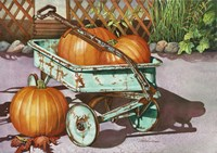 October Harvest Fine Art Print