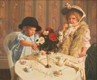 Tea For Two Fine Art Print
