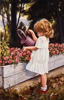 The Flower Garden Fine Art Print