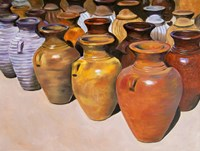 Pottery Row Fine Art Print