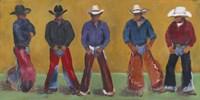Western Cowboys Fine Art Print