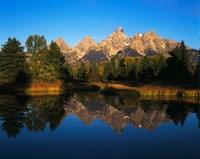 Teton Range and Snake River, Grand Teton National Park, Wyoming Fine Art Print