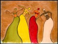 Four Sisters Fine Art Print