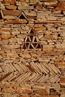 Mauritania, Adrar, Chinguetti, Stone pattern Fine Art Print