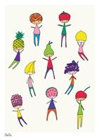 Fruit Heads Fine Art Print