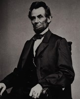Abraham Lincoln, 16th President of the United States Fine Art Print