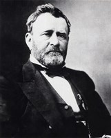 Ulysses S. Grant, 18th President of the United States Fine Art Print