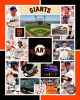 San Francisco Giants 2015 Team Composite Fine Art Print