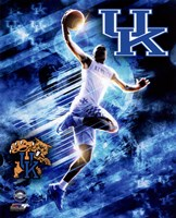 University of Kentucky Wildcats Player Composite Framed Print