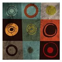 Tiles Circles Fine Art Print