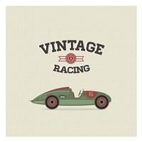 Vintage Racing 3 Fine Art Print