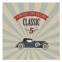 Vintage Racing 4 Fine Art Print