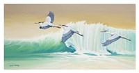 Wave Runners Fine Art Print