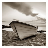 Boat on the Beach Fine Art Print