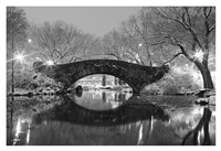 Bridge in Winter Fine Art Print