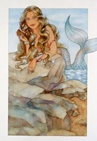 Mermaid 1 Framed Print