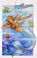 Mermaid 2 Fine Art Print