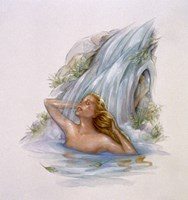 Mermaid 4 Fine Art Print