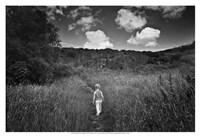 Beyond the Ridge I Framed Print