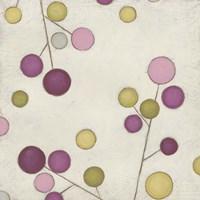 Molecular Blossoms III Framed Print