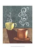 Good Morning Mugs II Framed Print