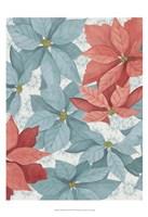 Christmas Poinsettia I Framed Print