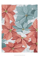 Christmas Poinsettia II Framed Print