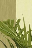 Painted Contrast Leaves IV Fine Art Print