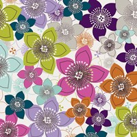 Boho Floral II Fine Art Print