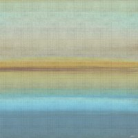 Beach Layers I Framed Print