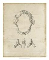 Shark Study I Framed Print