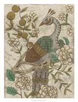Chinoiserie Pheasant II Framed Print