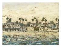 Beach Coast II Framed Print