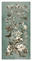 Chinoiserie Patina II Framed Print