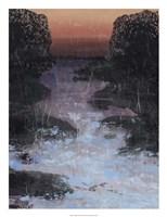 Twilight Canal I Framed Print