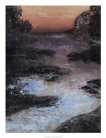 Twilight Canal II Framed Print