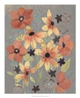 Offset Botanicals I Framed Print