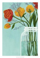 Sylvan Bouquet II Framed Print