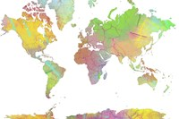 World Map 8 Fine Art Print