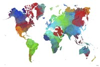 World Map 16 Fine Art Print