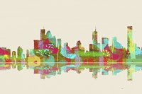 Brisbane Qld Skyline 2 Fine Art Print
