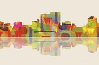 Darwin NT Skyline 2 Framed Print