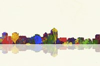 Albuquerque New Mexico Skyline 1 Fine Art Print