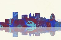 Baltimore Maryland Skyline 1 Fine Art Print