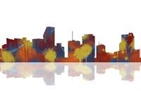 Miami Florida Skyline 1 Fine Art Print