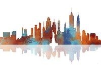 New York New York Skyline 1 Fine Art Print