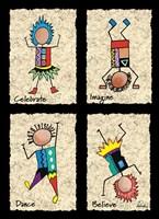 Celebrate Dance Fine Art Print