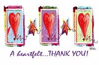 Heartfelt Thank You Fine Art Print