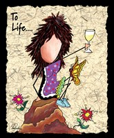 Toast To Life Fine Art Print