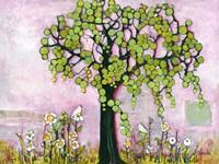 Pink Paradise Tree Fine Art Print